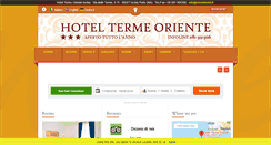Preview of orientehotel.it